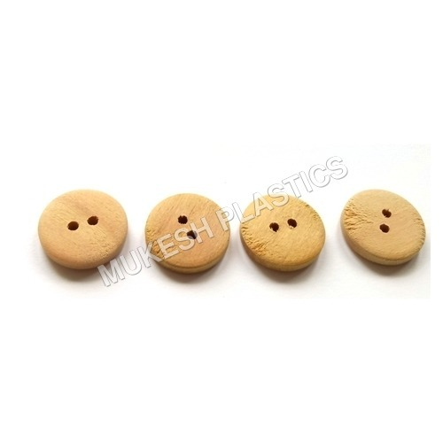 Two Hole Wooden Buttons