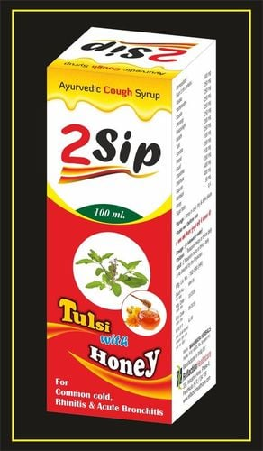 2 Sip With Tulsi And Honey Ayurvedic Cough Syrup