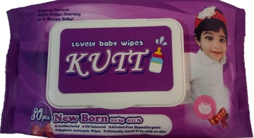 Antibacterial Wet Tissue Scented Baby Wipes