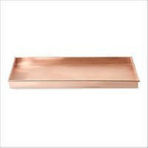 Indian Craftio Pure Copper Plain Serving Tray