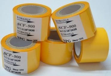 Yellow Hot Coding Foil