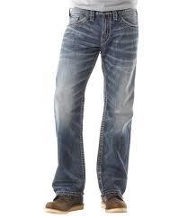 Men's Washed Jeans