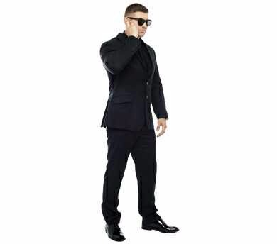 Mens Suit For Bouncer