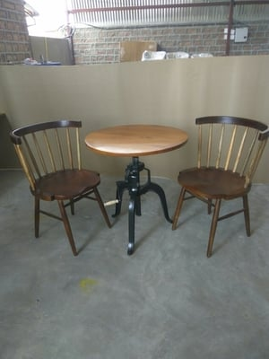 Vintage Hotel Chair And Table