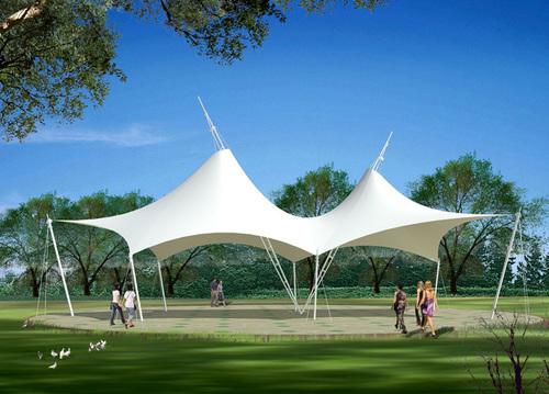 PVC Membrane Membrane Structure Tent