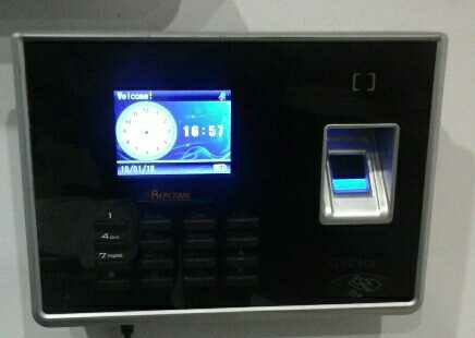 Biometric Finger Scanner Attendance System in  Chiranjiv Tower (Nehru Place)