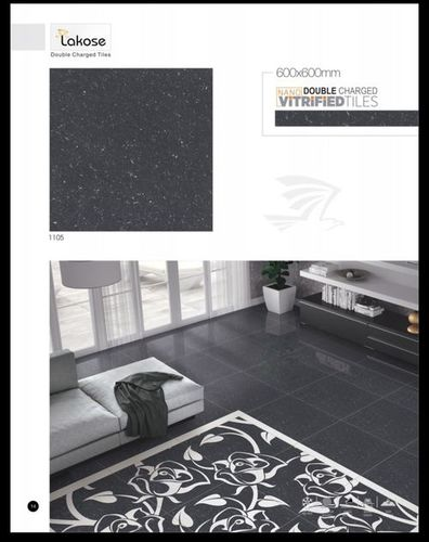 Lakose Double Charged Vitrified Floor Tiles