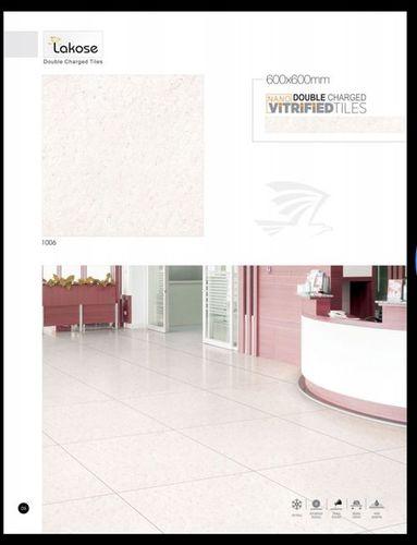 Lakose Pink Double Charged Vitrified Tiles