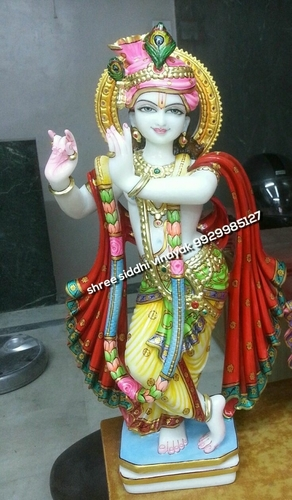 Marble Beautiful Krishna Statue in  Chandpole