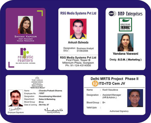 Rigid Pvc Id Card