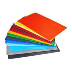 Colored Plastic Sheet in New Delhi, Delhi - SAWHNEY PLASTICS