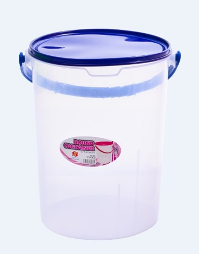 28L Round Container with Handle