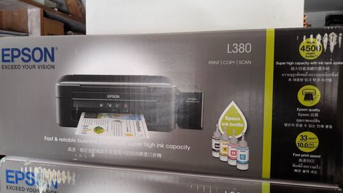 Multifunction Printer (Epson L380) at Price 11400 INR/Piece