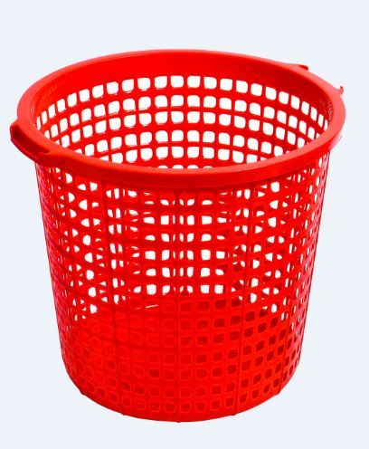 Plastic Medium Round Laundry Basket