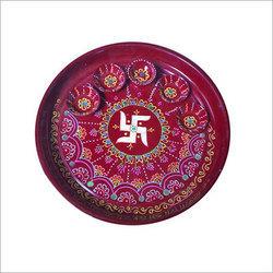 Decorated Pooja Thali