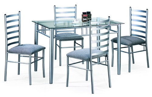 Steel Dining Table Set