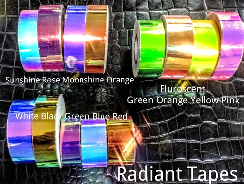 Iridescant Laser Tapes For Hula Hoops