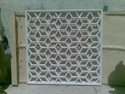 Modern Concrete Jali
