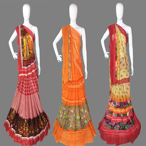 Regular Casual Wear Chiffon Saree