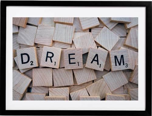 Framed Wall Art (Dream)