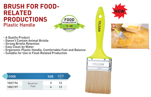 Brush For Food-Related Productions