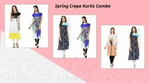 Spring Crepe Suit
