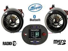 Bike Mp3 Player With Bluetooth And Fm Radio