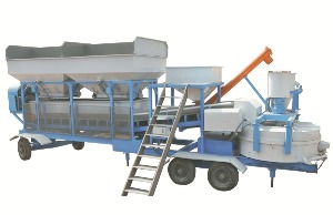 Cement Hopper With Screw Conveyor