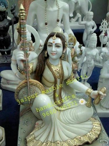 Goddess Marble Meera Bai Statues