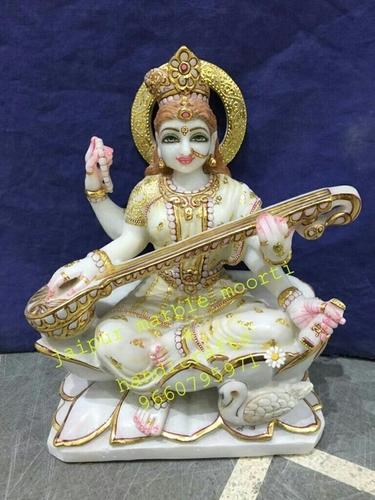 Unique Saraswati Marble Statues in  Chandpole