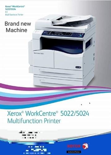 Xerox Black And White Digital Photo Copier Machine - DAS