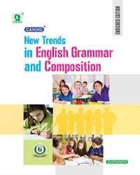 Candid New Trends in English Grammer and Composition Book