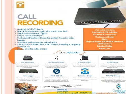 Phone Call Recorder - Manufacturers & Suppliers, Dealers