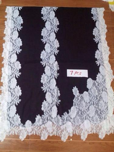 Indonesia Lace Stole Cashmere