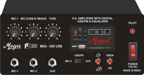 Mega Car Amplifier (MSA-500U)
