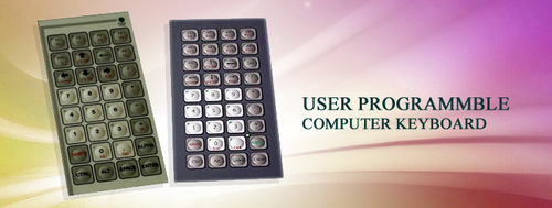 User Programmable Computer Keyboard