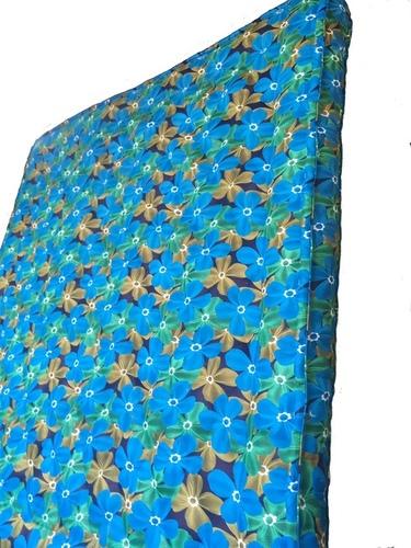 Kapok Silk Cotton Mattress_Blue