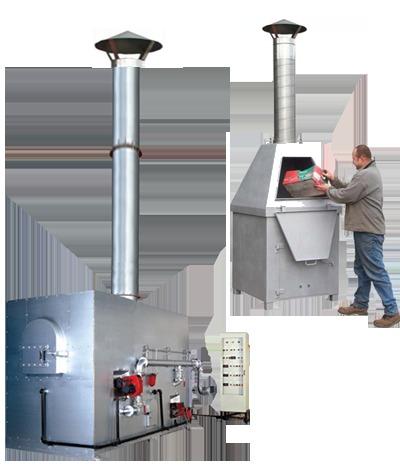 Waste Disposal Machine Incinarator