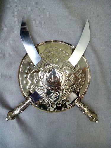 Brass Dhal And Talwar