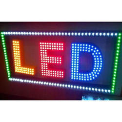 Led Glow Sign Board