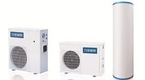 Water Recycling Air Source Heat Pump
