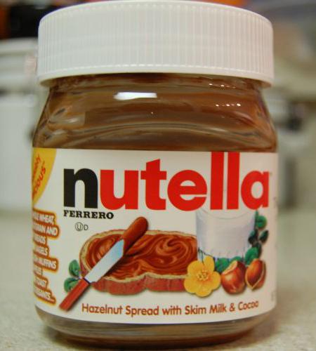 Nutella Ferrero Hazelnut Spread