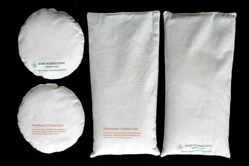White Rock Salt Filled Pillow