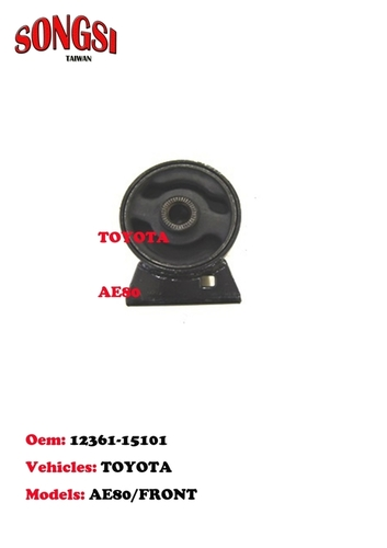 Toyota Front Engine Mounting