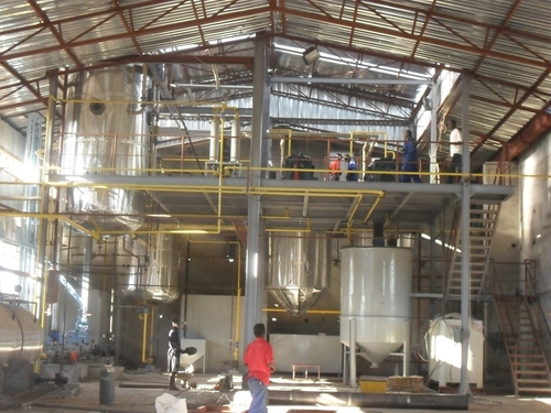 Oil Refinery Mill