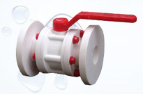 Durable Three Piece Ball Valve in  Vatva