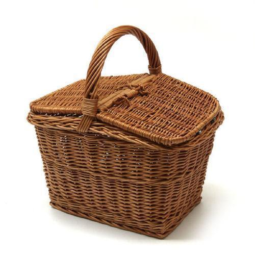 Picnic Cane Basket Recyclable