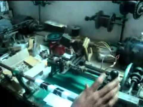 Tube Light Choke Winding Machine