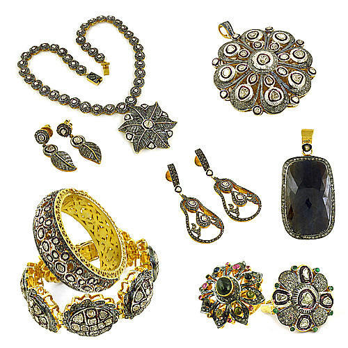 Victorian Silver Jewelry in Jaipur, Rajasthan - Art Palace India