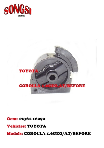Engine Mounting-Toyota Corolla 1.6Geo AT Before in   Xiangshan Dist.